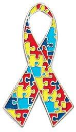 Autism Awareness Lapel Pin (48-Pack)