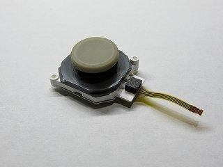3DS / LL共通 アナログスティック(スライドパッド)ゴムラバー・グリップ・キャップ & コントロール基板セット