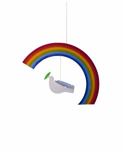 Flensted Mobiles Nursery Mobiles, Noah's Rainbow