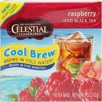 Celestial Seasonings Iced Black Tea Raspberry -- 40 Tea Bags