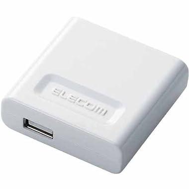 ELECOM スマートフォン用(docomo Xperia(TM), Xperia arc,MEDIAS,REGZA Phone, au IS05,IS04,SoftBank GALAPAGOS 005SH,HTC Desire対応) AC充電器 ホワイト MPS-X10ACUWH