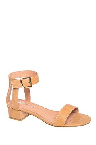 Blair Low Heel Ankle Strap Sandal