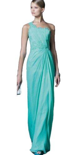 Ibeauty Dress Empire Waist Long Evening Dress Q25(Us 12Green 1)