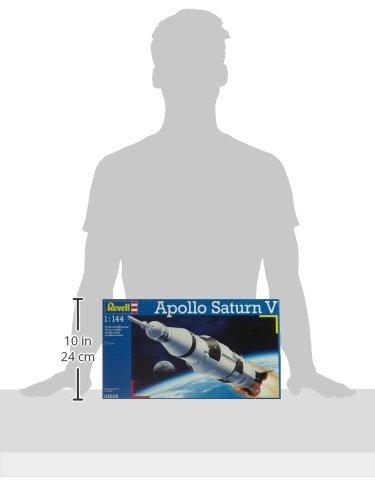 Revell-Modellbau-04909-Apollo-Saturn-V-im-Mastab-1144