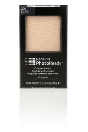 Revlon Photoready Compact Makeup, Cool Beige, 0.35-Ounce back-1027292