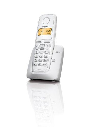 Gigaset AS 120, Telefono Cordless, Bianco