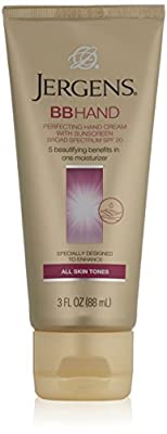 Jergens SPF 20 BB Hand Perfecting Cream with Sunscreen Broad Spectrum, 3 Fluid Ounce