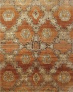 Hot Sale Transitional 44554 Rust 7' 9'' x 9' 9''