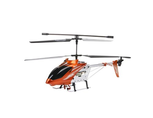 S031G 3-Channel Wireless R/C Radio Control Alloy Helicopter with Built-in Gyro