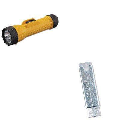 Kitbgt10500Cos091460 - Value Kit - Bright Star Llc Industrial Heavy-Duty Flashlight (Bgt10500) And Retractable Jiffi Cutter Utility Knife (Cos091460)