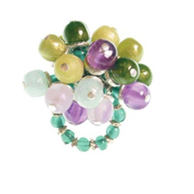 Orna Lalo Green Olives Ring