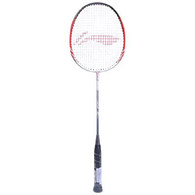 Li-Ning XP 80 Badminton Raquet (White/Red)