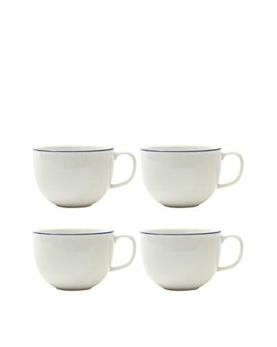 Prima Designs Set of 4 Painted Band Mugs, Multi