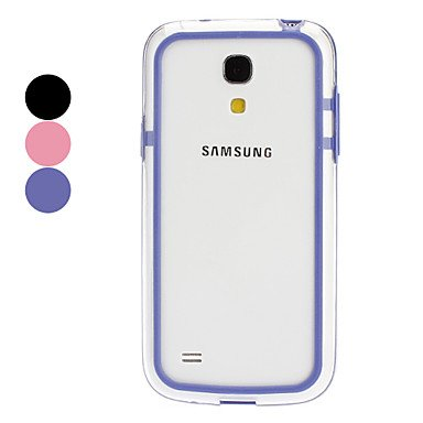 Protective Bumper Frame for Samsung Galaxy S4 mini I9190 (Assorted Colors) --- COLOR:Black