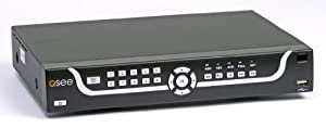 Q-See QS206 16-Channel H.264 Security DVR with Internet and Phone Monitoring (Hard Drive Not Included)