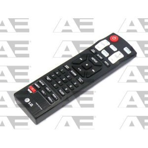 Lg Oem Original Part: Akb73575401 Home Theater Sound Bar Speaker Remote Control
