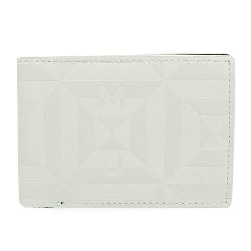 MARC BY MARC JACOBS 二つ折り財布 218600 メンズ ホワイト RUBIX BILL FOLD ルービックビルフォルド