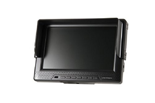 キャストレード 7.0型ワイドハイビジョンモニター バッテリ内臓(HDMI/コンポーネント/ビデオ) HD701BAT-MBK HD701BAT-MBK