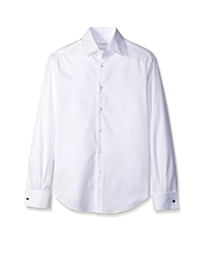 Brunello Cucinelli Men's Spread Collar Sportshirt