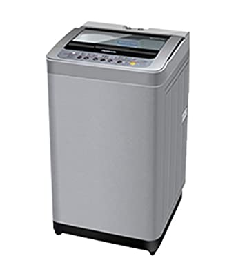 Panasonic NA-F70B5HRB Fully-automatic Top-loading Washing Machine (6.5 Kg, Grey)