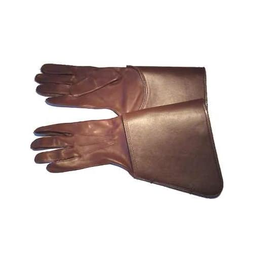 Men's RCMP Musical Ride Leather Gauntlets