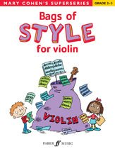 Alfred 12-0571532616 Bags Of Style For Violin - Music Book front-984986