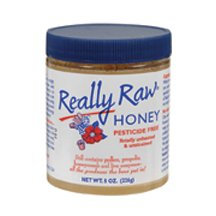Really Raw Honey, Honey, Raw Unheated, Unstrained - 8 Oz
