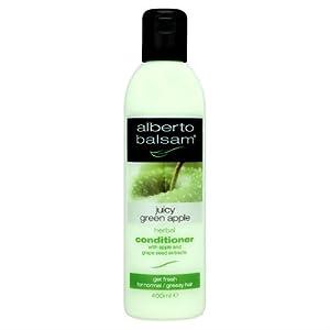 Alberto Balsam Juicy Green Apple Herbal Conditioner 400ml Case of 6