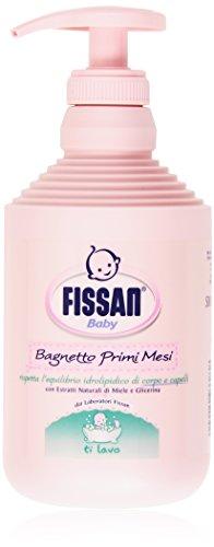 Fissan - Bagnetto Primi Mesi Baby, con Estratti Naturali di Miele e Glicerina - 500 ml