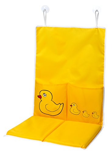 Tubside Bath Kneeling Pad - Stay comfortable while bathing your baby and kneeling over the tub. Suction cups fastens to bathtub, thick knee pads for comfort and pockets for bathing essentials. (Bath Kneeling Pad compare prices)
