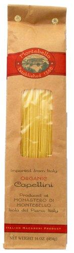 Montebello Semo Capellini Pasta, 1 Pound -- 20 per case.