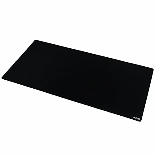 Glorious 3XL Extended Gaming Mouse Mat / Pad – Large, Wide (Long) Black Mousepad, Stitched Edges | 48″x24″x0.12″ (G-3XL)