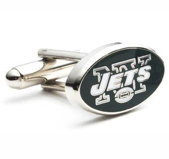 New York NY Jets NFL Cufflinks Cuff Links