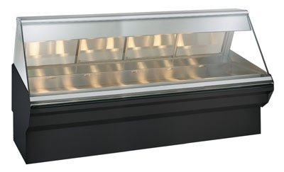 "Alto-Shaam S/S 96"" Heated Display Case W/ Base"