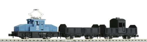 N Scale 10-502-2 Mini Convex Freight Train Set of a Country Town (Blue) [Japan Import]