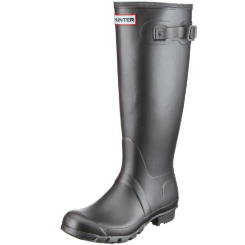 Hunter Women's Original Tall Metallic Pewter Wellington Boot W23591 4 UK