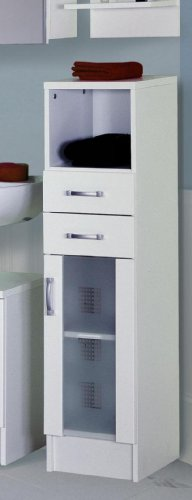 Posseik Nizza 5410 76 Bathroom Cupboard White