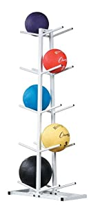 Champion Sports Double Medicine Ball Tree by Champion Sports