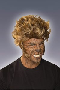 Werewolf Wig Adult Halloween Costume Accessory