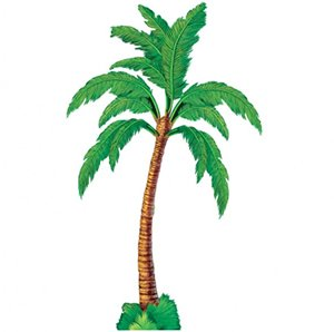 Jointed Palm Tree Cutout 72in