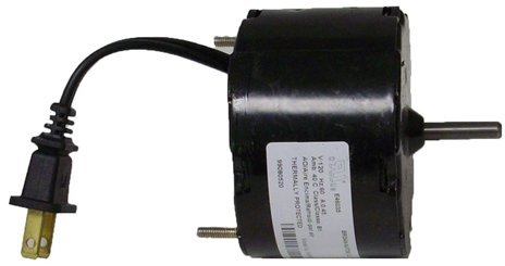 Broan Vent Fan Motor # 99080518; 1550 Rpm, 0.5 Amps, 120V 60Hz.