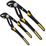 Push Lock Plier Set with Cushion Handles, 2 Pc