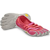 Vibram FiveFingers Womens Alitza Pink-Grey Athletic Shoes