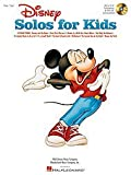 Hal Leonard Disney Solos For Kids Vocal Collection Book and CD