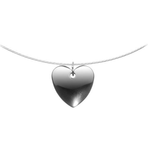 Hemalyke Heart Choker Necklace