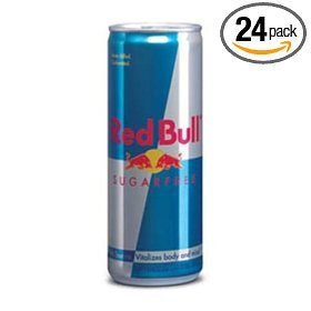 RED BULL SUGARFREE 8.3 OZ / 24PK