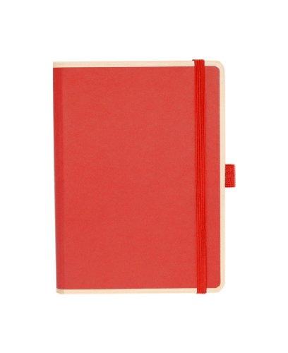 Le Profesionnel Small Notebook, rot +++ 100 fogli di (liniert) +++ stylisches SKETCH- AND NOTIZBUCH +++ qualità originale SEMIKOLON