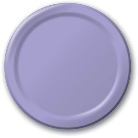 Purple Lavender Extra Large Paper Plates (20ct)