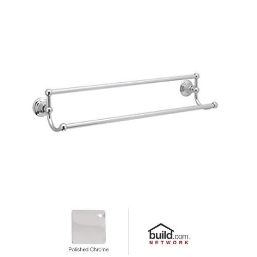 "Rohl Rot20/24 Country Bath 24"" Double Towel Bar, Old Iron front-247220"