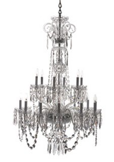 Ardmore Crystal Chandelier - 18 arm